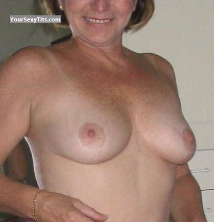 Tit Flash: Medium Tits - Pat from Canada